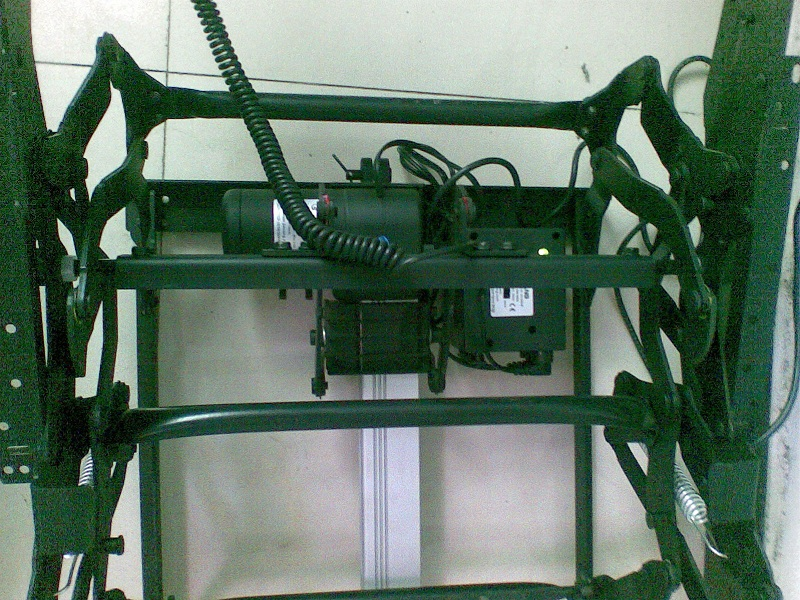 Electric Recliner Mechanism